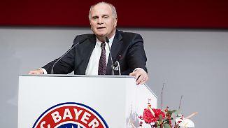 """Hoeneß bläst zum Angriff auf RB Leipzig: """"Endlich haben wir einen Feind, den wir attackieren können"""""""