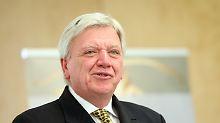 Nur AfD und Linke gehen nicht: Bouffier wirbt für Schwarz-Grün