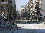 Ost-Aleppo zur Hälfte eingenommen: Moskau: Syrien hat Durchbruch erreicht