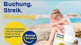 Keine Lösung im Tarifstreit: Ryanair witzelt über Streik-Chaos bei Lufthansa