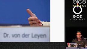 Biometrie - mit Sicherheit nicht sicher: CCC hackt von der Leyens Fingerabdruck