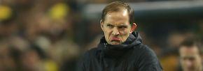 Anders ist die Gemütslage bei Thomas Tuchel, Klopps Nachfolger beim BVB.