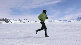 42 Kilometer durch die Antarktis: Läufer bezwingen den kältesten Marathon der Welt