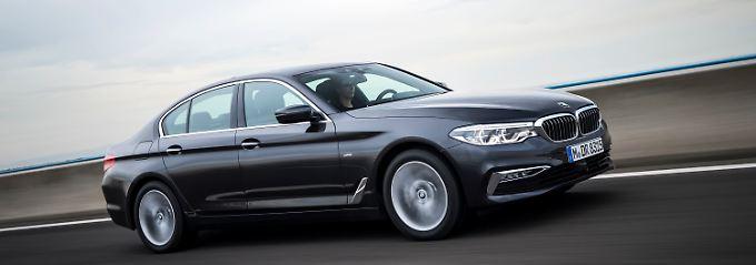 Äußerlich unterscheidet sich der neue BMW 5er kaum von seinem Vorgänger.