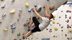 Ab 2020 sogar olympische Disziplin: Bouldern lockt immer mehr Kletterer in die Halle