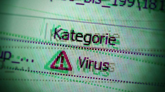 Achtung, Virus: Mit einer guten Schutzlösung brauchen Nutzer keine Angst zu haben.