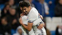 """""""Er hat's einfach in der DNA!"""": Zidane jr. euphorisiert Real Madrid"""