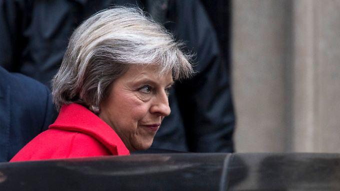 Die Briten wollten raus aus der EU, aber nach wie vor die besten Handelsbeziehungen erreichen, so Premierministerin May.