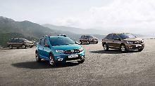 Hübscher und sparsamer: Dacia überarbeitet Sandero und Logan