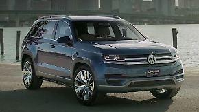 Liebeserklärung an US-Kunden: VW Atlas soll Firmenimage aufpolieren
