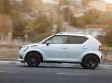 Kleinwagen die auf SUV getrimmt sind gibt es schon einige, aber Allrad wie der Suzuki Ignis bietet kaum ein Hersteller an.