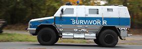 Der Survivor-R ist ein Tresor auf Rädern, der von den Henschel-Weken hergestellt wird.