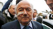 Ausgesperrt: Ex-Fußball-Pate Joseph Blatter.