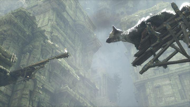 """""""The Last Guardian"""" spielt in einer fantastischen Ruinen-Landschaft."""
