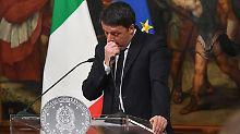 """Renzi scheitert an Referendum: """"Italien könnte EU-Beben auslösen"""""""