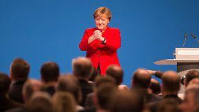 """Elf Minuten Applaus für Rede in Essen: Merkel: """"Wer das Volk ist, das bestimmen wir alle"""""""