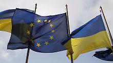 Weg frei für EU-Ukraine-Abkommen: Niederlande drücken Zusatzklausel durch