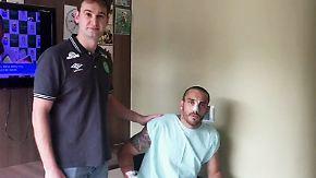 Gedenken an Chapecoense: Überlebender Spieler bedankt sich bei Fans