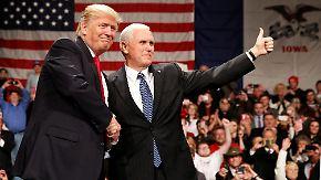 Burger-Boss, Lobbyisten, Klimaleugner: Trump schart sein Regierungsteam um sich
