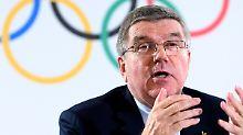 Konsequenzen wegen Dopings: Bach kündigt Sanktionen gegen Russland an