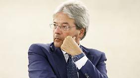 Bisher Außenminister, nun neuer Regierungschef: Paolo Gentiloni.