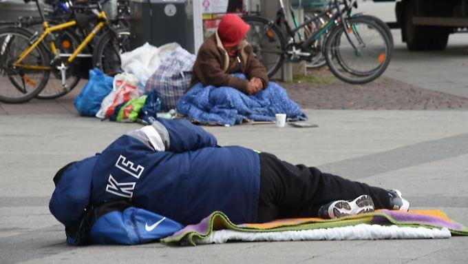 Das Leben auf der Straße ist nicht nur hart, sondern auch gefährlich.