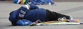 Gewalt gegen Obdachlose: 2016 gab es mindestens 17 Tote