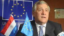 Neuer Präsident des EU-Parlaments: Italiener Tajani soll Martin Schulz beerben