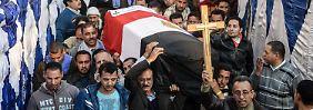 Tote Kinder und Frauen in Kairo: IS bekennt sich zu Anschlag in Kathedrale