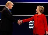Propagandafeldzug vor US-Wahl: Clinton wirft Trump Anstiftung Moskaus vor