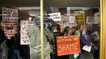 """""""Staatsstreich"""" in North Carolina: Republikaner klammern sich an die Macht"""