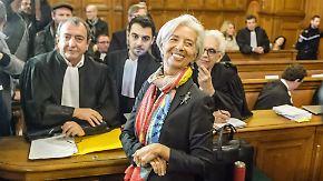 IWF-Chefin bleibt ungestraft: Gericht spricht Lagarde wegen Fahrlässigkeit schuldig
