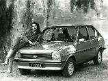 Mit dem Ford Fiesta Mk1 brachte der US-amerikanische Hersteller einen echten Welterfolg an den Start.