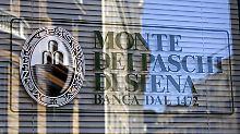 Abschreibungen auf Kredite: Monte dei Paschi verbucht Milliardenminus