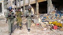 """UN: """"Regelrechte Hinrichtungen"""": Russen entdecken Massengräber in Aleppo"""
