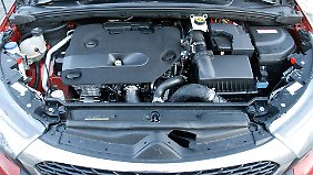 Der Zweiliter-Diesel erzeugt ein maximales Drehmoment von 400 Newtonmetern.