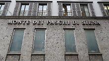 Krisenbank Monte dei Paschi: Berlin mosert über Italiens Rettungsplan