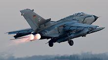 """Deutschland operiert mit """"Tornado""""-Aufklärungsjets über Syrien und Irak."""
