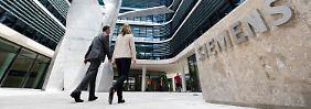 Neue Siemens-Konzernzentrale am Wittelsbacherplatz in München.