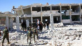 """""""Alles getan, was in unserer Macht steht"""": Gefechte trotz Waffenruhe in Syrien"""