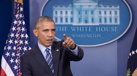 Manipulation bei US-Wahl befürchtet: Obama sanktioniert Russland wegen möglichem Hackerangriff