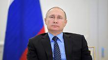 Wladimir Putin (Archivbild) dankt den Russen.