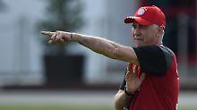 Trainingslager am Persischen Golf: Ancelotti feiert mit den Bayern Premiere