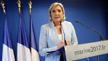 Marine Le Pen tritt bei der französischen Präsidentschaftswahl als Spitzendkandidatin des rechtsextremen Front National an.