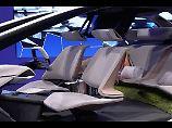 So stellt sich BMW den Innenraum seiner Fahrzeuge für die Zukunft vor.