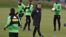 Dieter Hecking soll Borussia Mönchengladbach zurück in sichere Tabellenregionen führen.