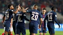 45 Minuten im blauen Trikot: Randale überschattet Draxler-Debüt für PSG
