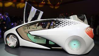 Automobile Visionen auf der CES: Toyota präsentiert intelligentes Auto