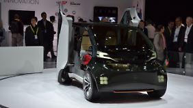 Hondas NeuV ist klein, weiß aber alles über seinen Fahrer.