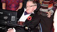 Gefangener Körper, grenzenloser Geist: Stephen Hawking feiert 75. Geburtstag